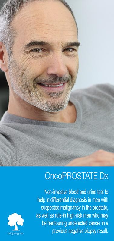 pruebas de diagnóstico sobre el cáncer de próstata, como opko 4k